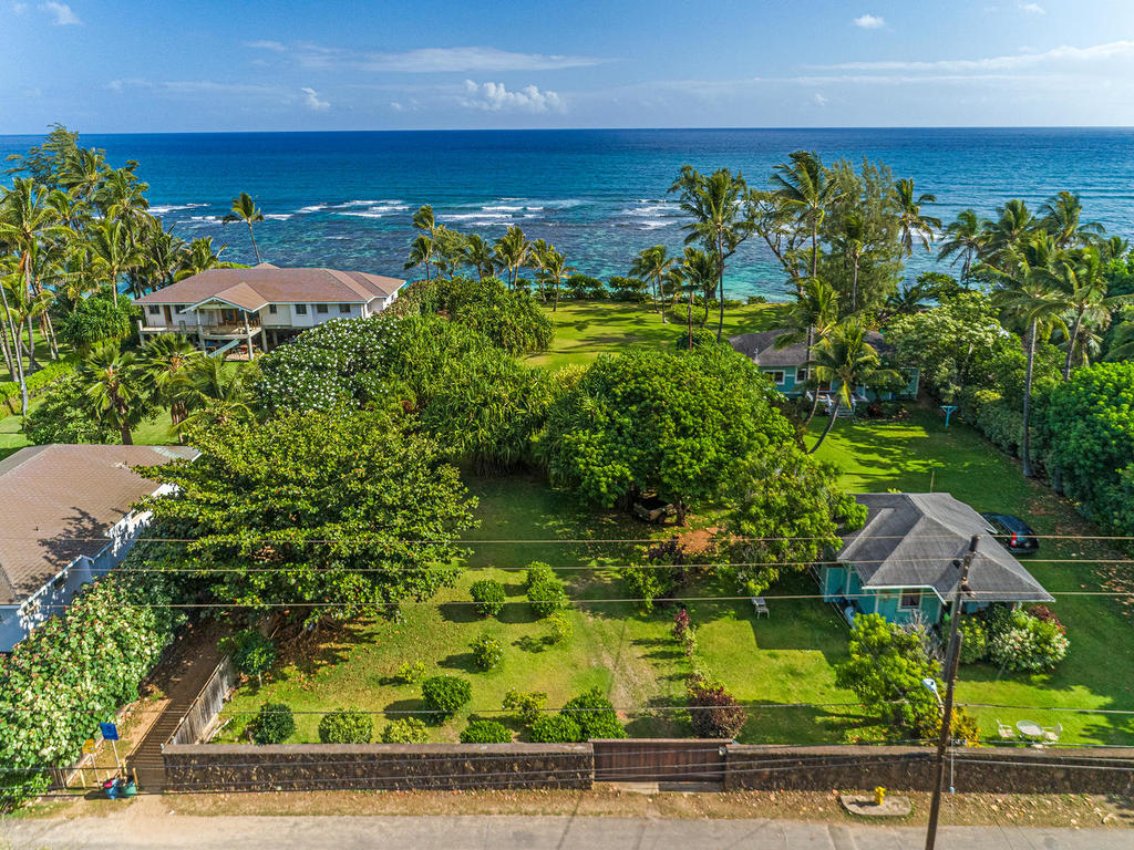Mokuleia oceanfront for sale North shore Oahu