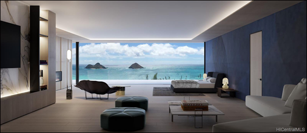 Lanikai Ocean View Luxury Home