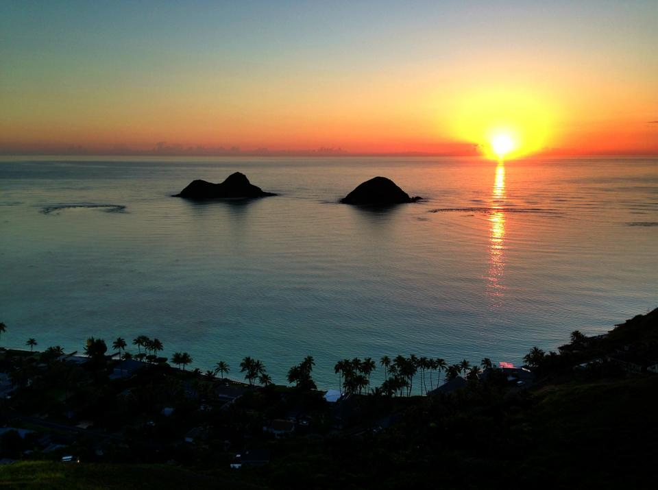 Lanikai Sunrise Hawaii