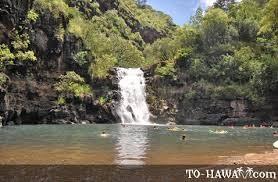Waiamea Falls Oahu Hawaii