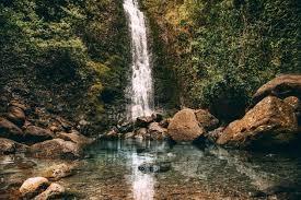 Lulumalu falls hawaii