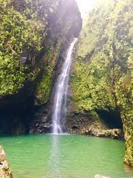 Sacred falls Ohau Hawaii