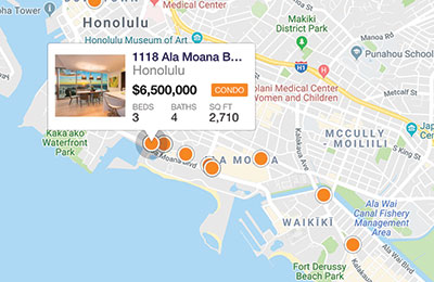 hawaii mls map
