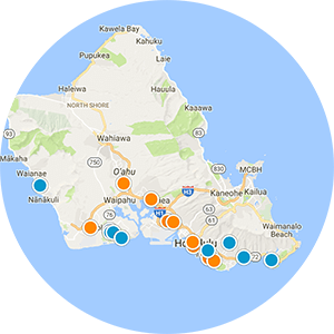 Kaneohe Real Estate Map Search