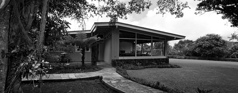Mid century modern homes on oahu for Mid century modern home builders