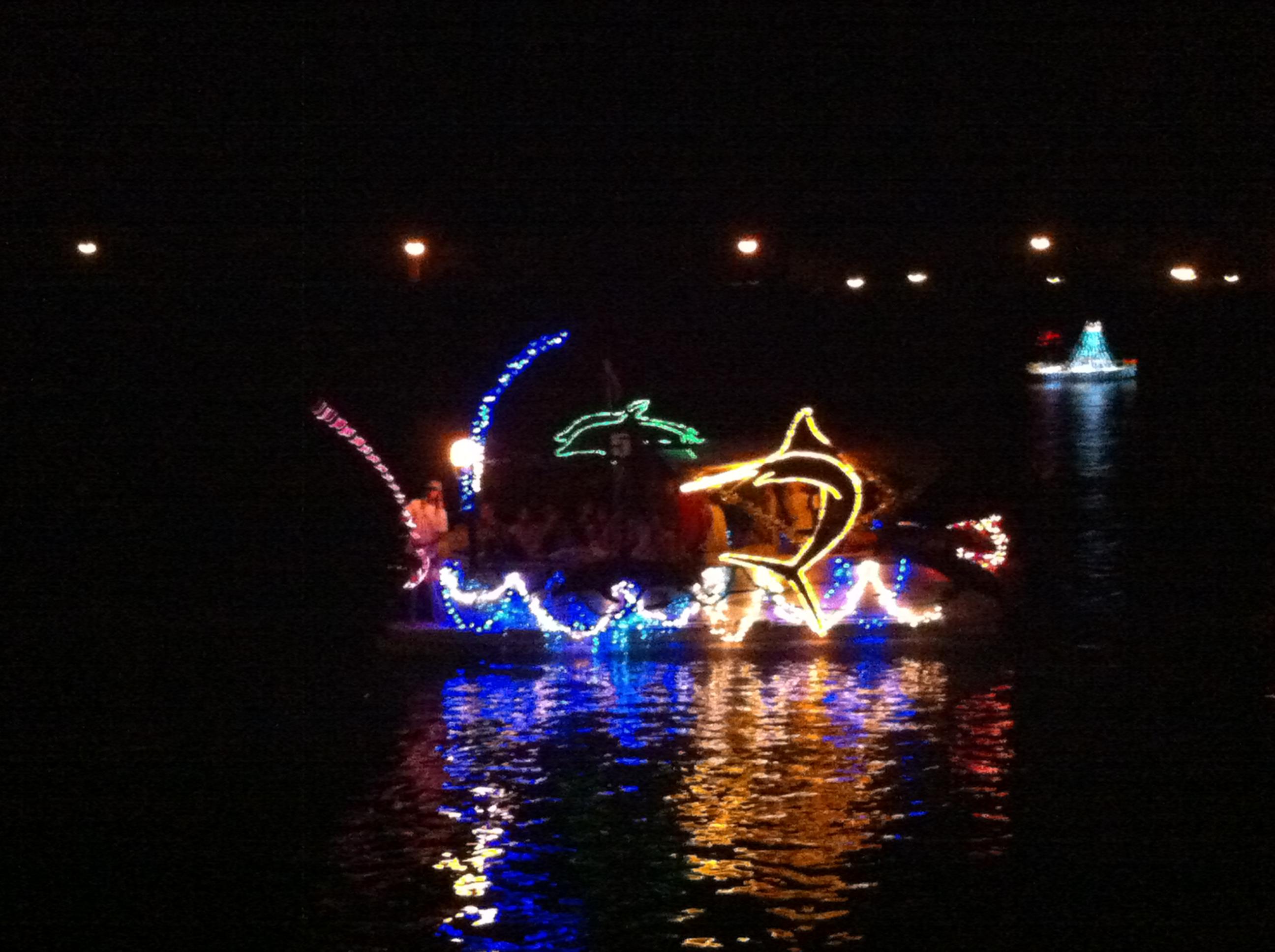 Hawaii Kai Boat Parade Fishing