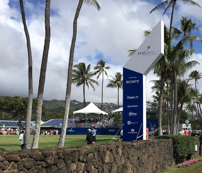 2020 Sony Open in Kahala