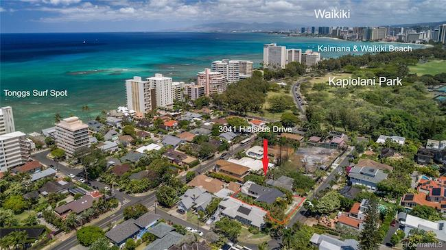 3041 Hibiscus Drive in Diamond Head