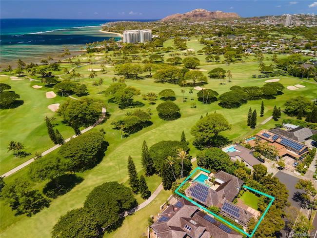 4821 Kaimoku Way on Waialae Golf Course