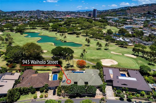 943 Waiholo St. on Waialae Golf Course