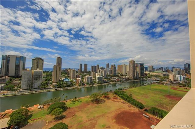 View from Ala Wai Plaza #2405