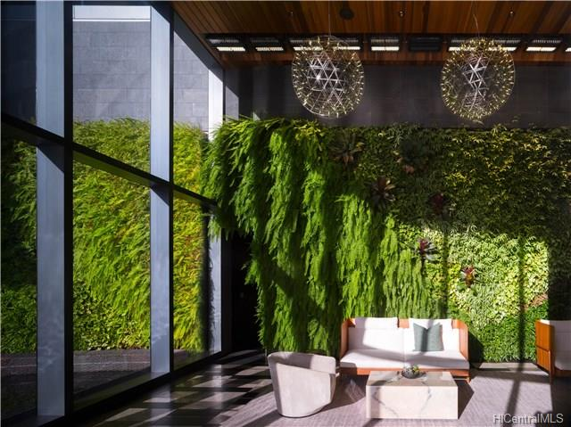 Anaha Lobby and Living Wall