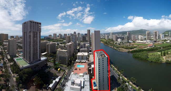 2233 Ala Wai #18B Auction
