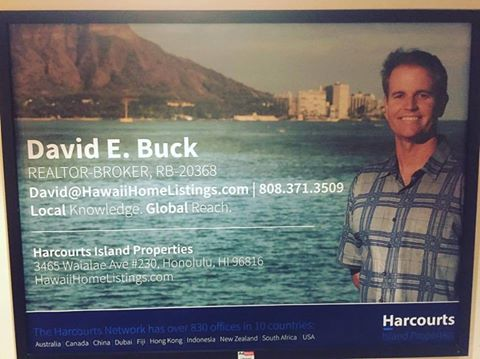 David and Harcourts at Kahala Mall