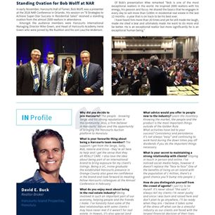 David in Harcourts Insider Magazine