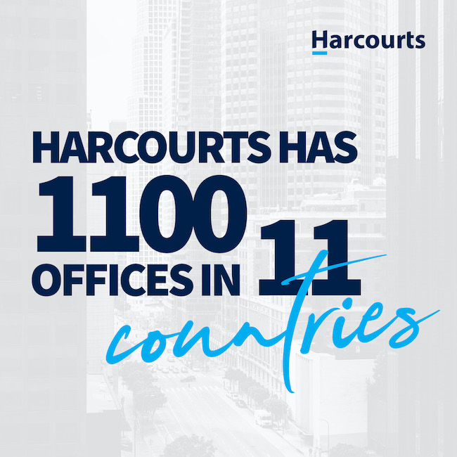 Harcourts Has 1100 Offices in 11 Countries