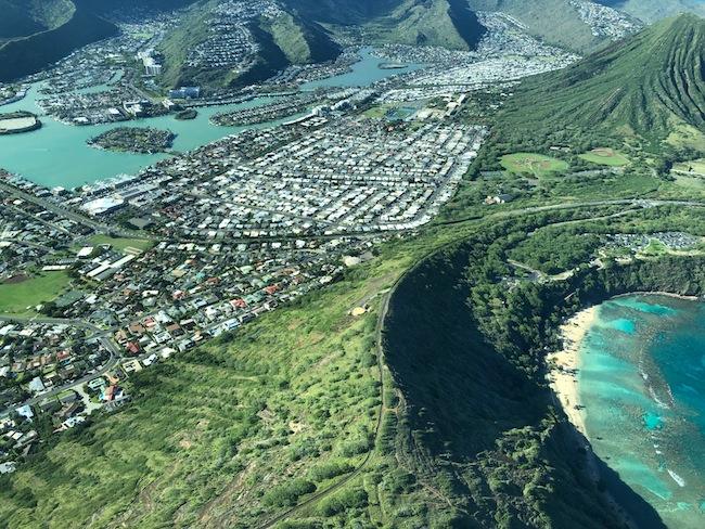 Hawaii Kai Aerial View
