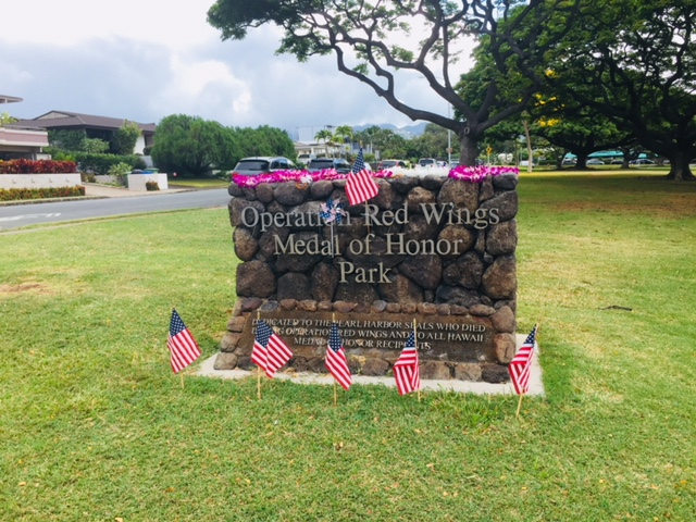 Operation Red Wings Memorial Park at Diamond Head