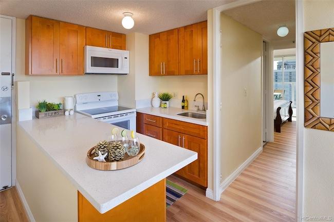 Island Colony Condo in Waikiki for $415,000