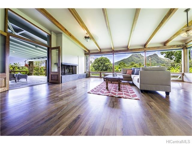 Maunawili Mid Century Modern Home