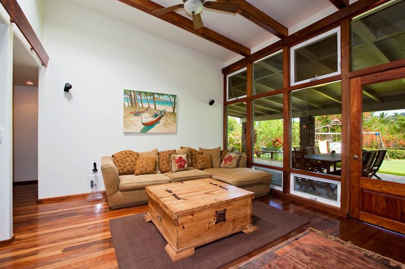 Maunawili TV Room
