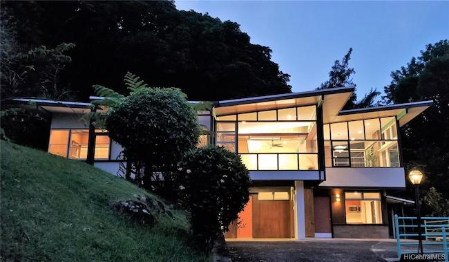 Alfred Preis Home at 3247 Melemele Place Re-Launched