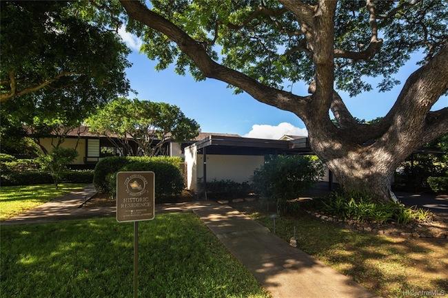 Historic Ossipoff Residence in Puupanini
