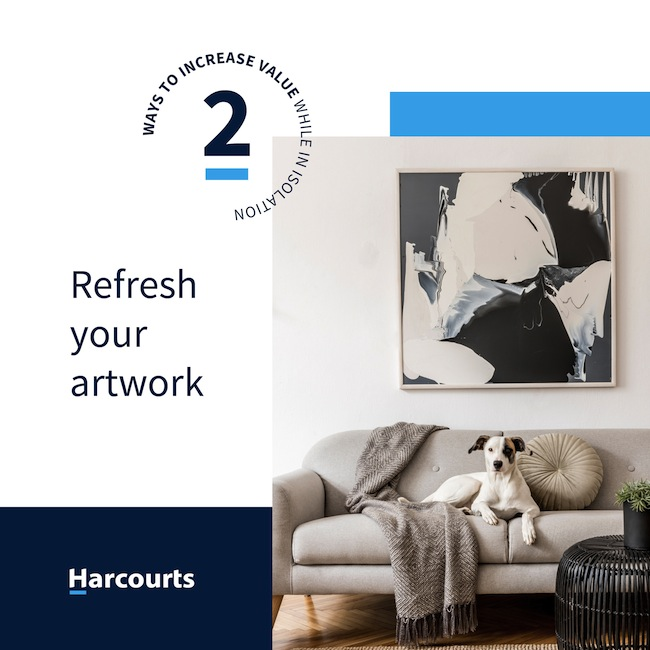 Refresh Your Artwork for Home Value