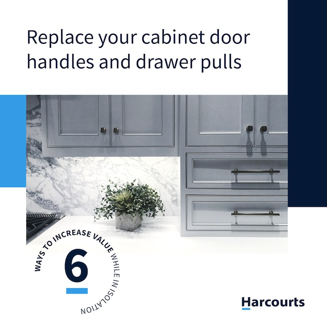 Replace Your Cabinet Door Handles and Cabinet Pulls