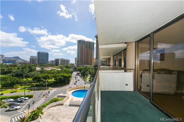 View from Wailana at Waikiki #805