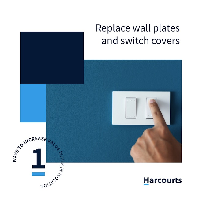 Replace Wall Plates and Switch Covers