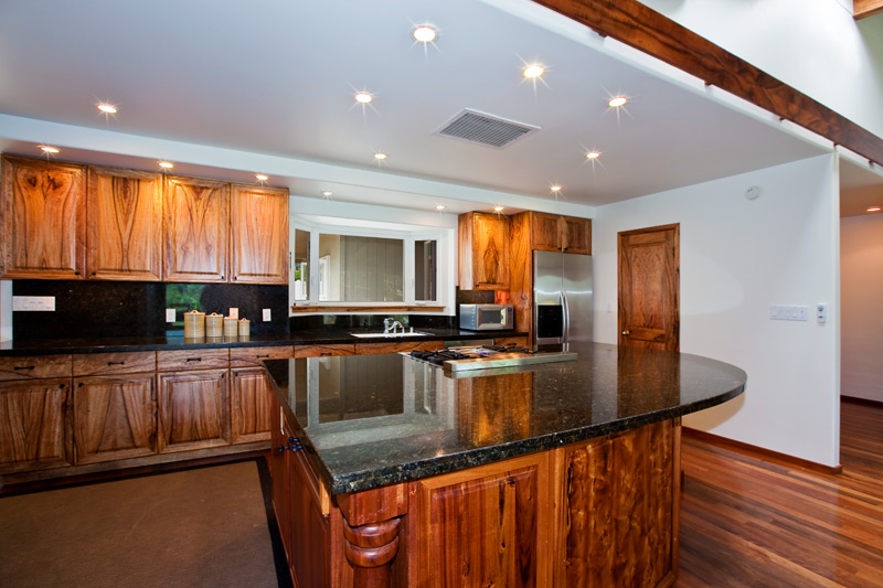 Maunawili Home with Mango Cabinets