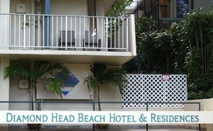 Diamond Head Beach Hotel Sign