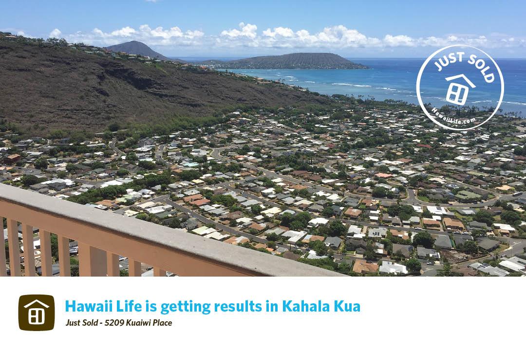 Kahala Kua Just Sold