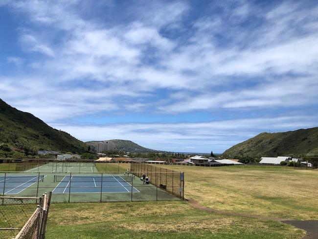 Hahaione Tennis Courts