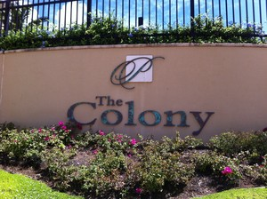 Colony at the Peninsula Sign