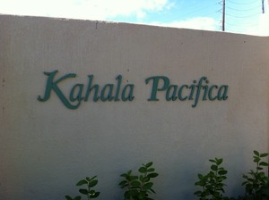 Kahala Pacifica Sign