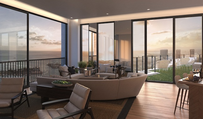 Level 42 Indoor Lanai