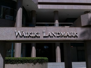 Waikiki Landmark Sign