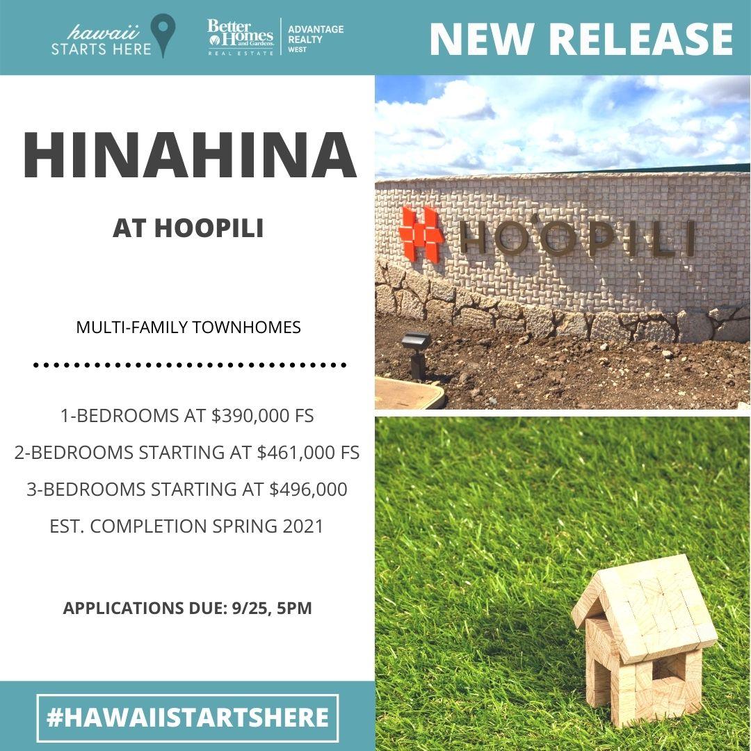 Hinahina at hoopili Second Release
