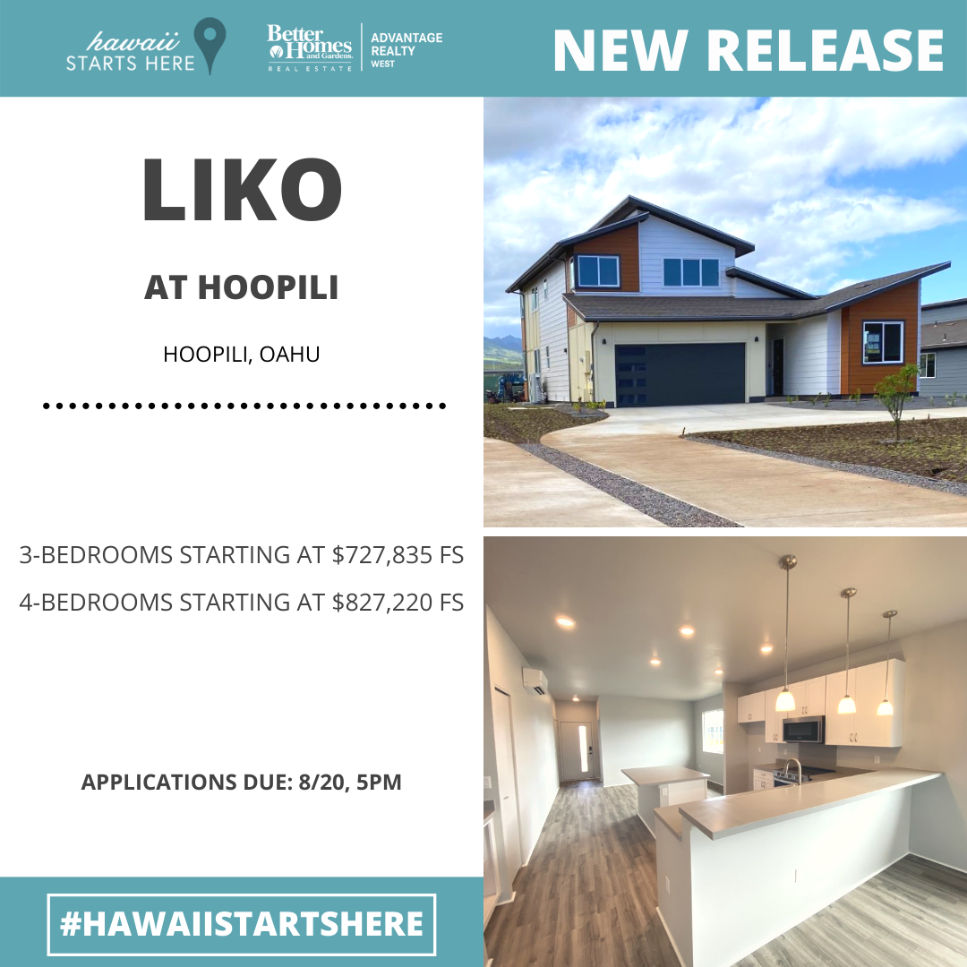 Liko at Hoopili Lottery Release