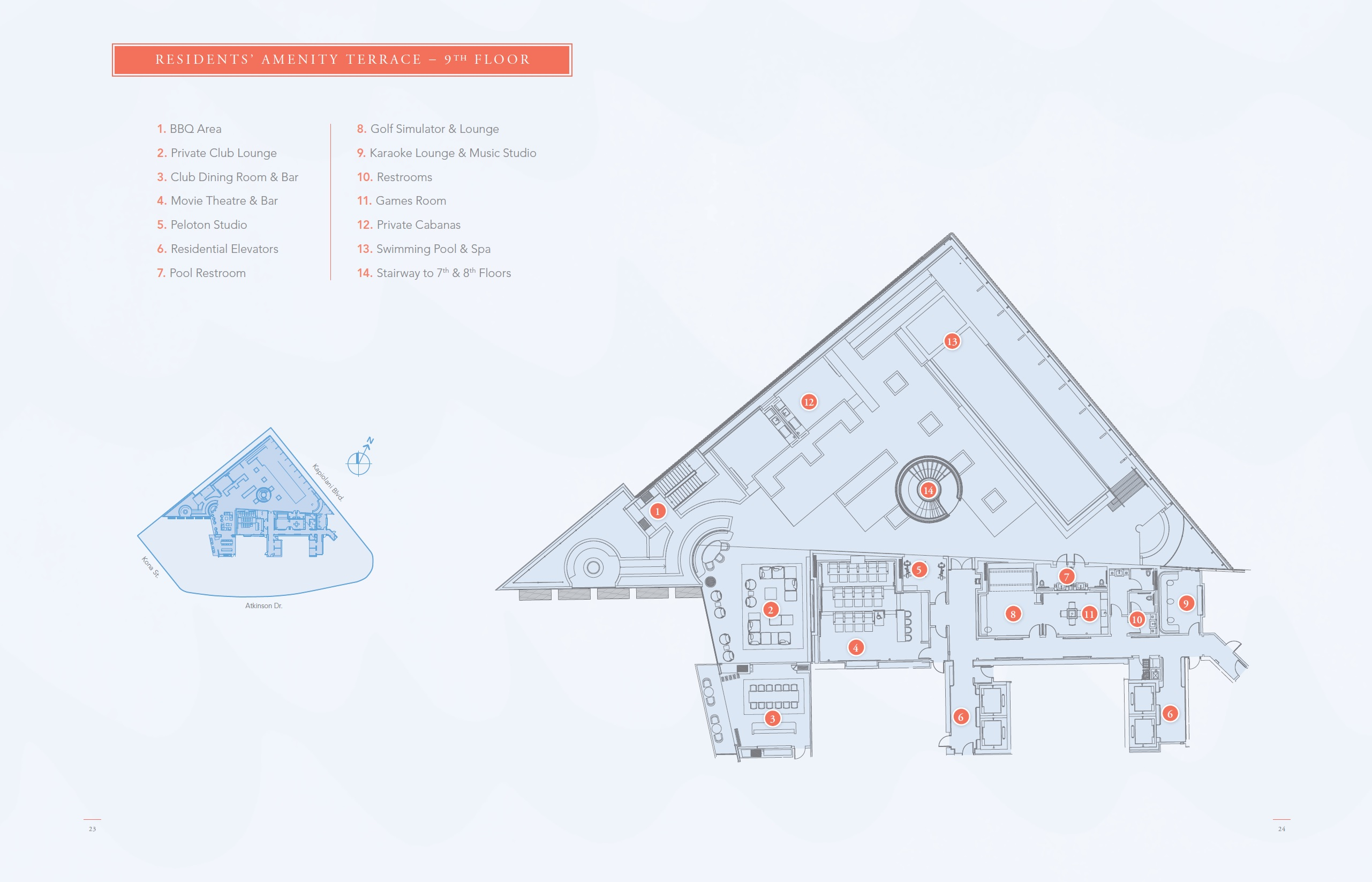 Mandarin Oriental Residential Amenities 9th Floor