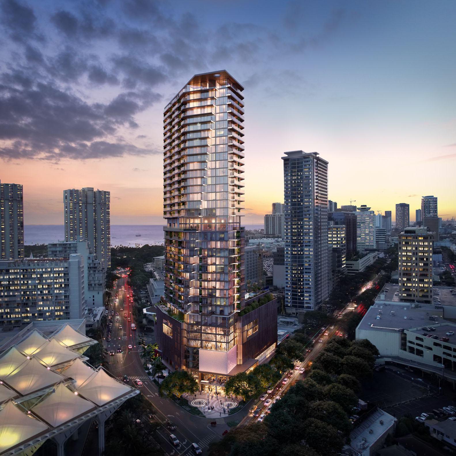 The Residences at Mandarin Oriental Honolulu