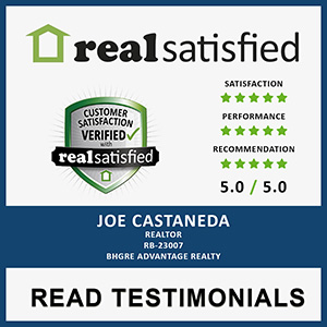Real Satisfied Joe Castaneda Reviews