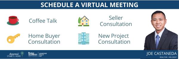 Schedule a Virtual Meeting with Joe Castaneda