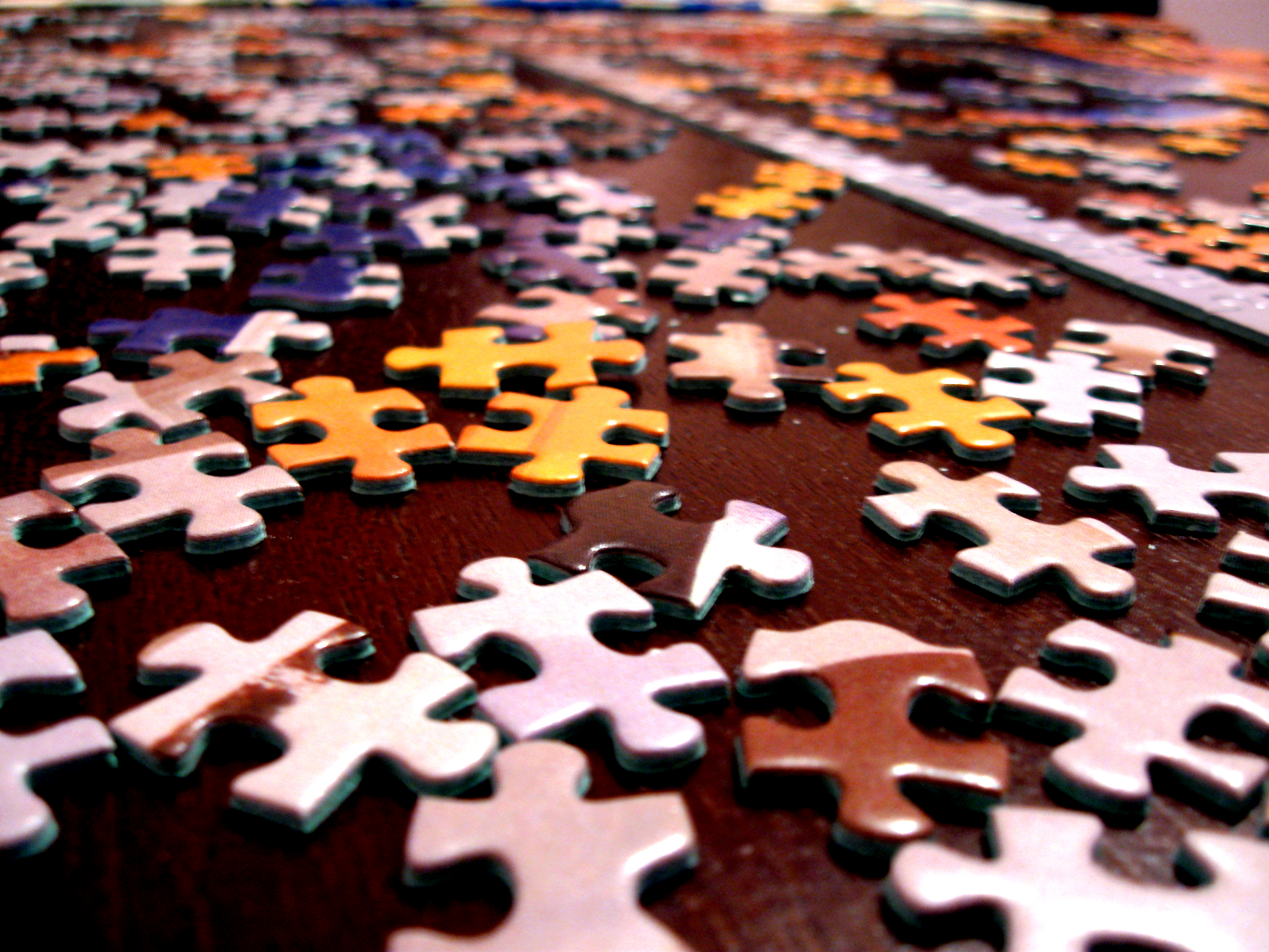 The Market is more of a puzzle going forward.