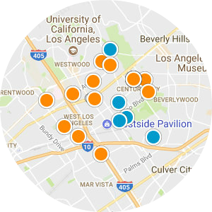 Rancho Park Real Estate Map Search