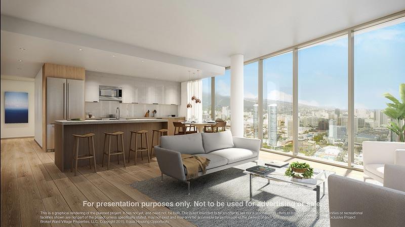 AEO Living Room & Kitchen
