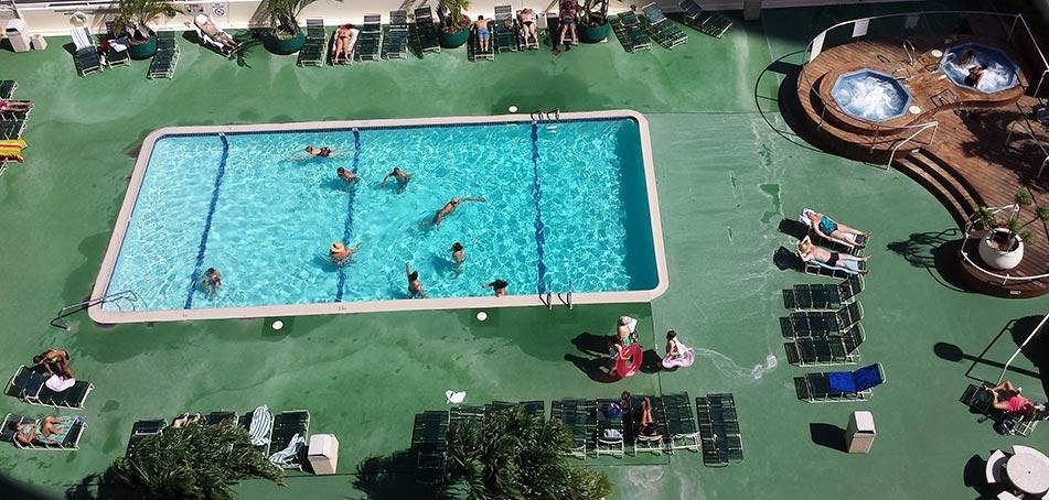 Waikiki Banyan Pool