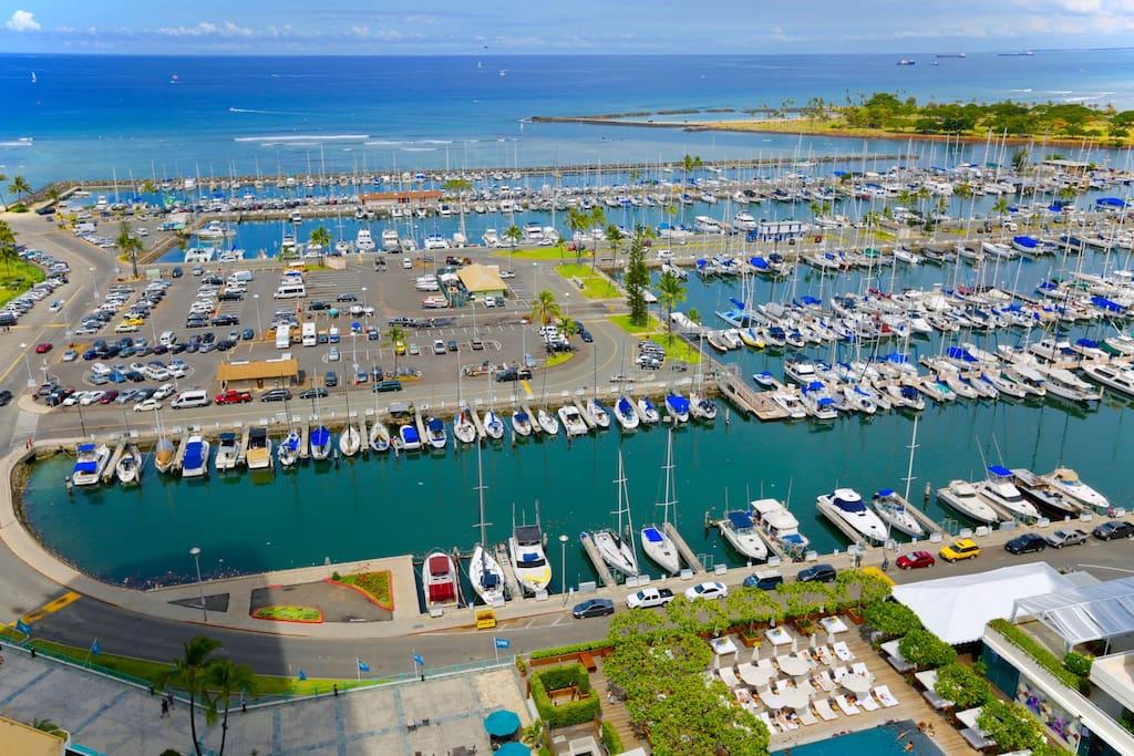 Ilikai Apartments Harbor View
